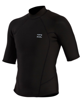 Furnace Carbon - Short Sleeve Wetsuit Top for Men  W42M67BIP1