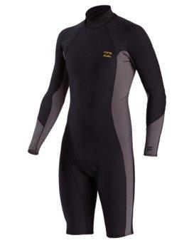 2/2mm Absolute - Long Sleeve Back Zip Springsuit for Men  W42M90BIP1