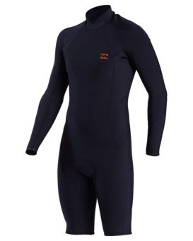 2/2mm Absolute - Long Sleeve Back Zip Springsuit for Men  W42M90BIP1