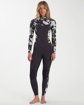 Salty Dayz - 4/3mm Chest Zip Wetsuit for Women  W44G50BIP1