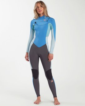 Synergy - 4/3mm Chest Zip Wetsuit for Women  W44G51BIP1