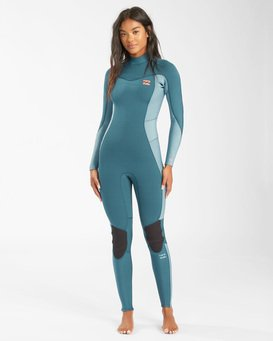 Synergy - 4/3mm Back Zip Wetsuit for Women  W44G52BIP1