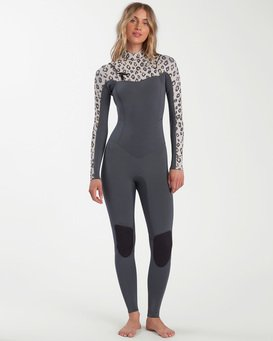 5/4mm Surf Capsule Salty Dayz - Chest Zip Wetsuit for Women  W45G50BIP1