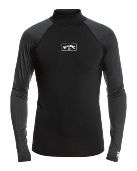 Contrast - Long Sleeve UPF 50 Rash Vest for Men  W4MY10BIP1