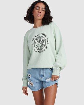 Palm Vibes - Sweatshirt for Women  X3FL23BIS1