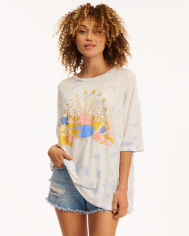 Sun And Sea - Recycled T-Shirt for Women  X3KT26BIS1