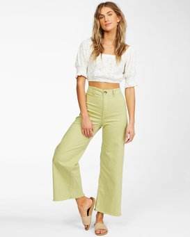 Free Fall - Wide Leg Trousers for Women  X3PT01BIS1