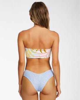 Tropic Jungle - Reversible Bikini Top for Women  X3ST02BIS1