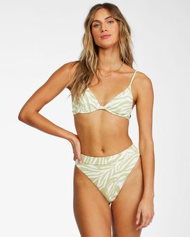 Jungle Town Underwire - Recycled Bikini Top for Women  X3ST04BIS1
