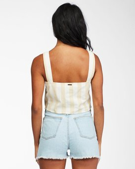 East Side - Cropped Top for Women  X3TP05BIS1