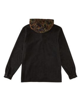 Furnace Anorak - Water Repellent Hooded Furnace Fleece for Men  Z1FL46BIF1