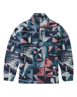 Boundary - Half Zip Furnace Fleece for Men  Z1FL52BIF1