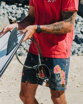 """Wrangler Rose Garden Layback 17"""" - Boardshorts for Men  Z1LB04BIF1"""