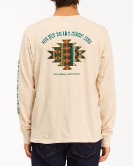 Wrangler Westward - Long Sleeve T-Shirt for Men  Z1LS05BIF1