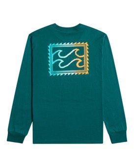 Crayon Wave - Long Sleeve T-Shirt for Men  Z1LS13BIF1