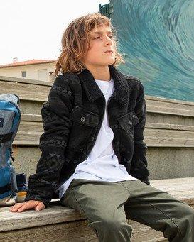 Barlow Sherpa - Trucker Jacket for Boys  Z2JK12BIF1