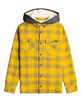 All Day Sherpa - Hooded Flannel Shirt for Boys  Z2SH10BIF1