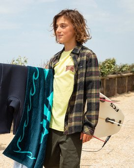Coastline - Flannel Shirt for Boys  Z2SH11BIF1