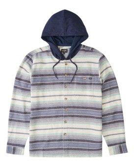 Baja - Hooded Flannel Shirt for Boys  Z2SH12BIMU