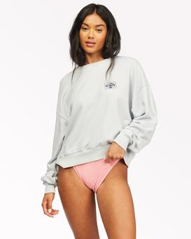 Let's Chill - Cropped Sweatshirt for Women  Z3CR20BIF1