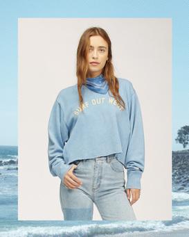 Wrangler Past Time - Sweatshirt for Women  Z3FL21BIF1