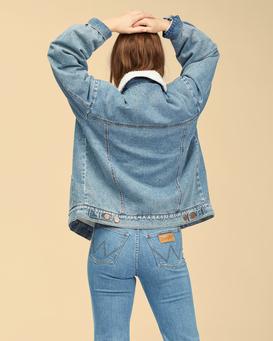 Wrangler Ride On - Denim Jacket for Women  Z3JK44BIF1