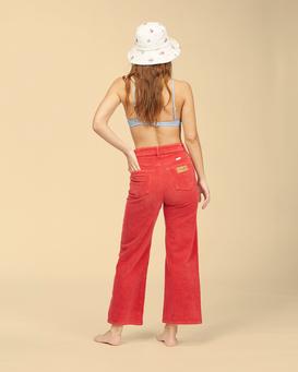 Wrangler The Retro - High Waisted Corduroy Trousers for Women  Z3PT10BIF1