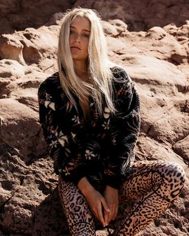 Time Off - Half Zip Furnace Fleece for Women  Z3WA10BIF1
