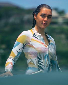 2mm Salty Dayz - Front Zip Springsuit for Women  Z42G16BIF1