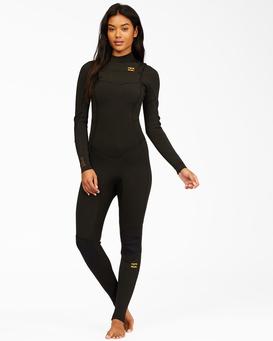 4/3mm Synergy - Chest Zip Wetsuit for Women  Z44G14BIF1