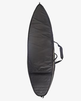 "ADIV 6'0"" - Wheeled Double Coffin Surfboard Bag for Men  Z4BD06BIMU"