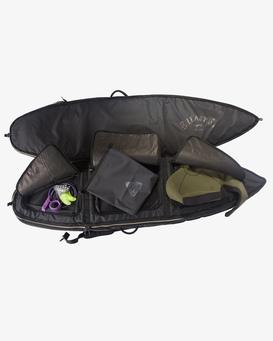 "ADIV Convertible 6'8"" - Wheeled Triple Coffin Surfboard Bag for Men  Z4BD14BIMU"