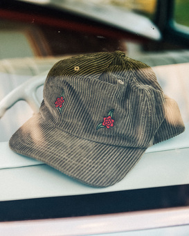 Wrangler Rose Garden - Strapback Cap for Men  Z5CS05BIF1