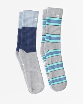 Stripe - Crew Socks for Men  Z5SO09BIF1