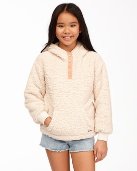 Stay Warm - Hooded Furnace Fleece for Teen Girls  Z8WA02BIF1