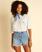 Wrangler Showdown - High Waisted Denim Shorts for Women  Z3WK05BIF1