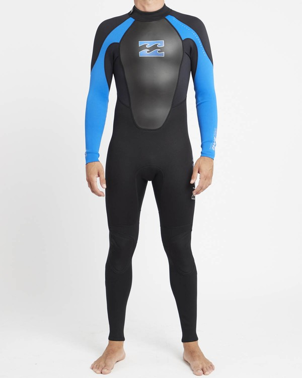 0 Intruder 4/3mm GBS - Steamer Wetsuit for Men Blue 044M15BIPP Billabong