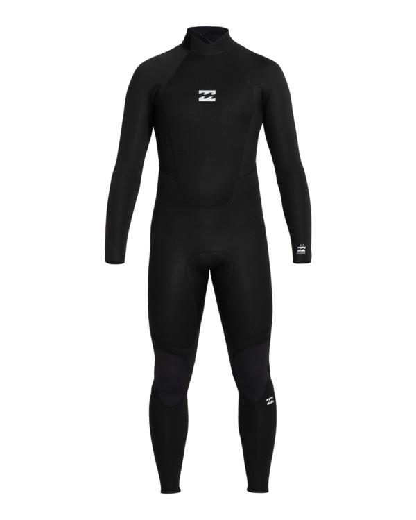 0 Intruder 4/3mm Intrdr Bz GBS - Back Zip Wetsuit for Men Black 044M18BIP0 Billabong