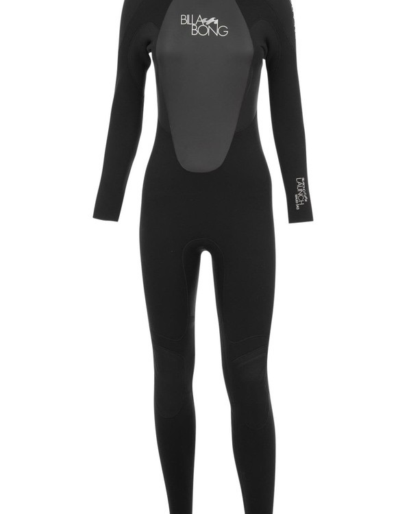 0 5/4 Launch Series Back Zip Fullsuit Schwarz 045G01BIPP Billabong