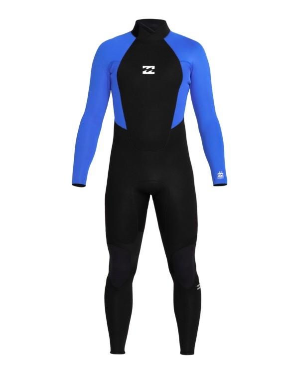 0 Intruder 5/4mm Intrdr Bz GBS - Back Zip Wetsuit for Men Blue 045M18BIP0 Billabong
