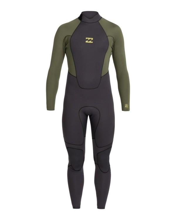 0   Intruder 5/4mm Intrdr Bz GBS - Back Zip Wetsuit for Men   Black 045M18BIP0 Billabong