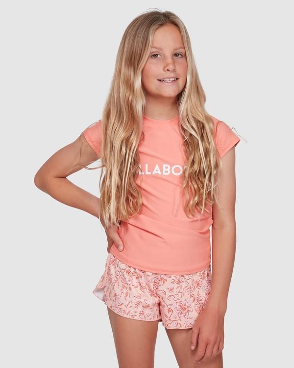 0 Wave Gypsy Swim Volley Boardshorts Pink 5503581 Billabong