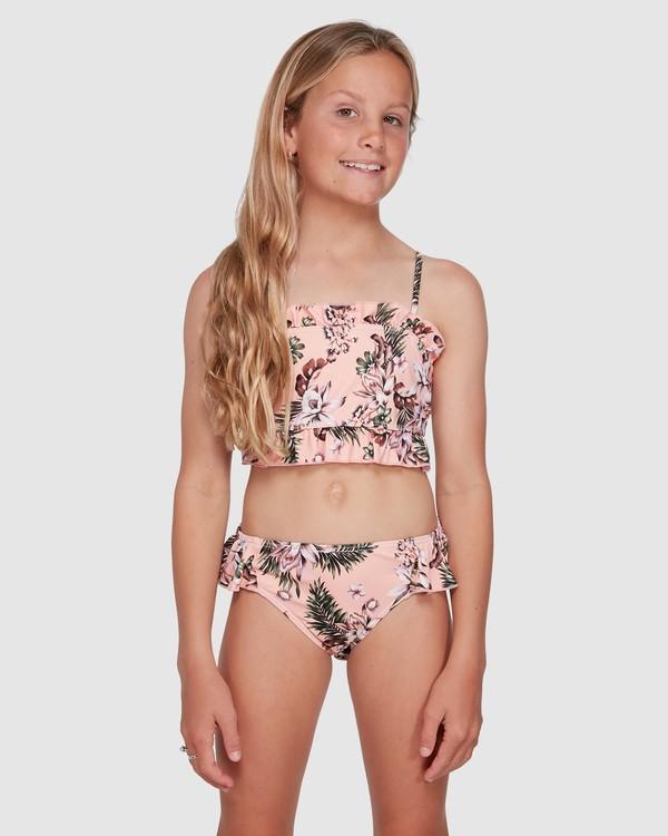 0 Summer Jam Frill Bikini Pink 5503701 Billabong