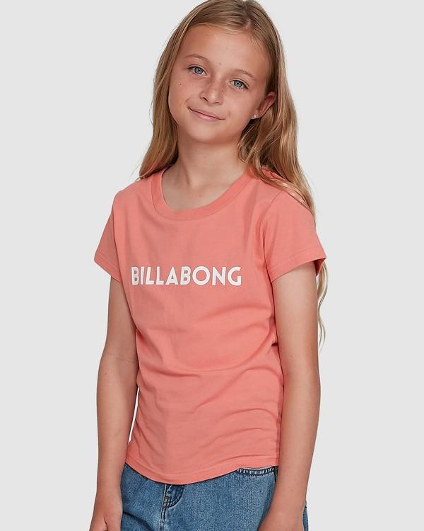 0 Dancer Short Sleeve Tee Orange 5504001 Billabong