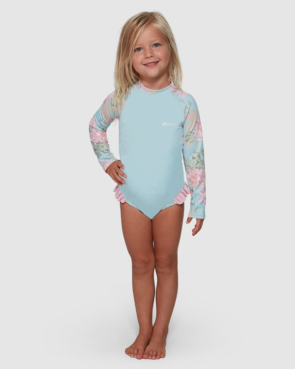 0 Nirvana One Piece Rash Vest Blue 5504711 Billabong