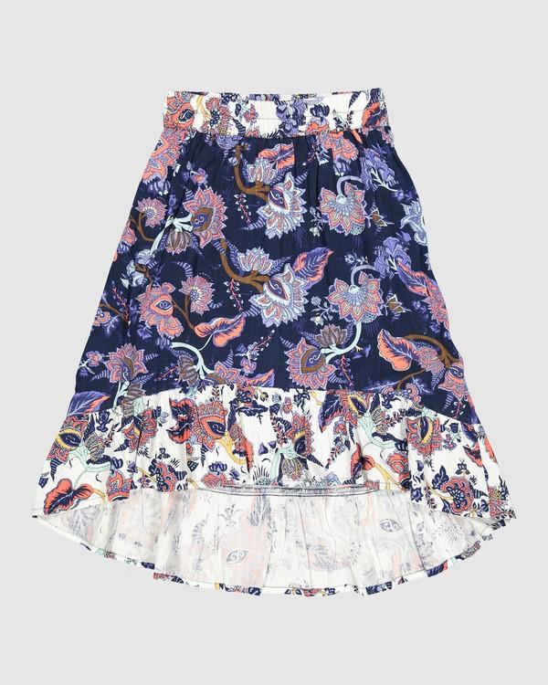 0 Gypsy Skirt Blue 5507521 Billabong
