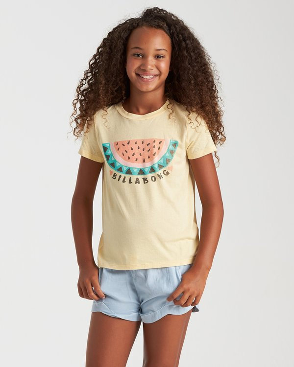 0 Summer Treats Tee Yellow 5508001 Billabong