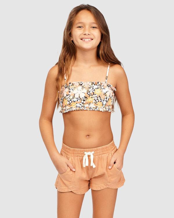 0 Girls 6-14 Mad For You Shorts Beige 5513342 Billabong