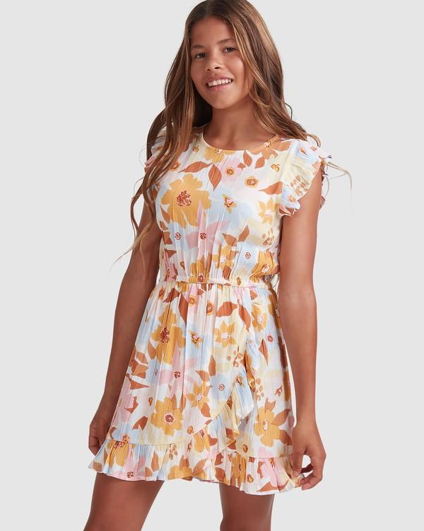 0 Girls 6-14 Walk In The Sun Dress  5513461 Billabong