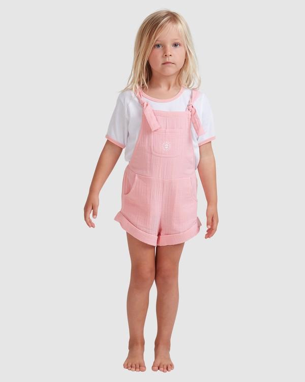 0 Girls 0-5 Sundance Jumpsuit Pink 5513522 Billabong